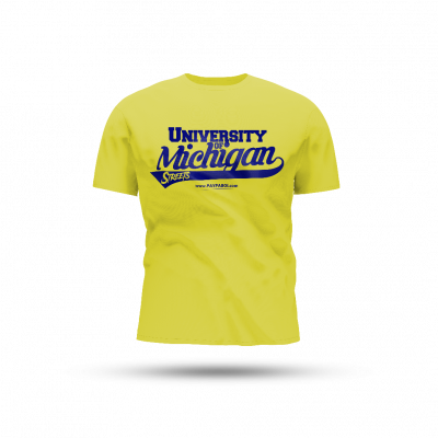 PREORDER - University of Michigan Streets (Releases Sept 12, 2020)
