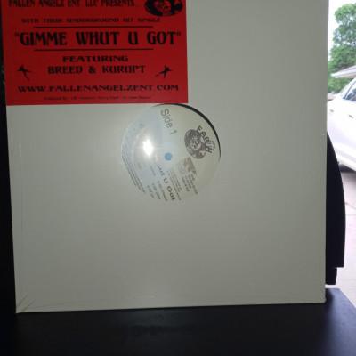 "Earth ""Gimme Whut U Got"" Maxi Single Vinyl"