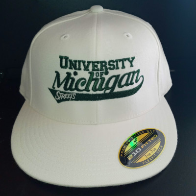 PREORDER - University of Michigan Streets Fitted Hat (Releases Sept 12, 2020)